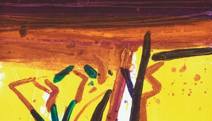 Barbara Rae, Provence Yellow